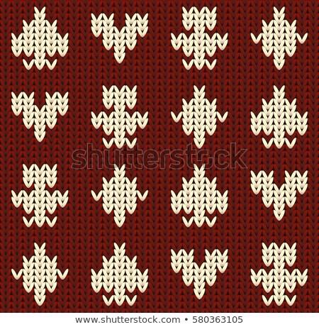 maglia · poker · carta · vanga · moda · design - foto d'archivio © carodi