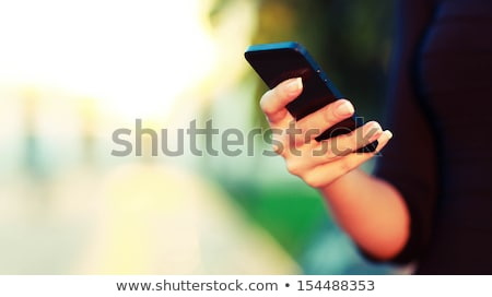 phone and the sky bright stock photo © rufous