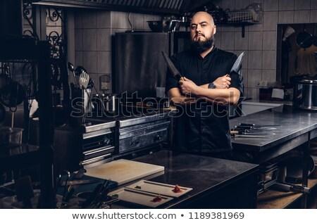 男性 チーフ 調理 アジア ストックフォト © RAStudio
