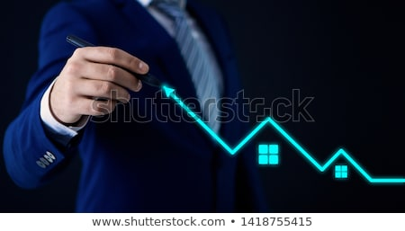 real estate building business logo concept design Stock photo © SArts