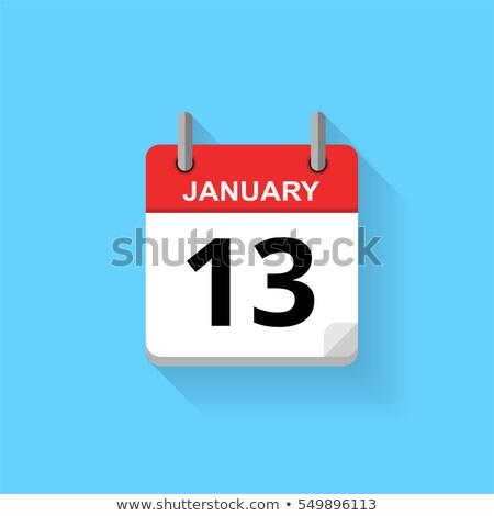 13th January Stock photo © Oakozhan