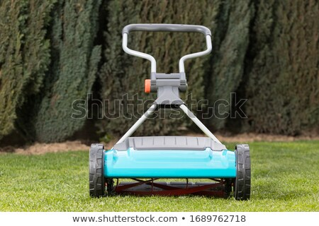 Hand lawn mower stock photo © 5xinc