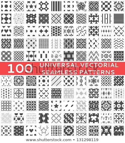 Raccolta geometrica piazze simile abstract Foto d'archivio © ExpressVectors