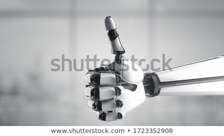 Robotic hand giving the 'okay' sign. Stock photo © sommersby