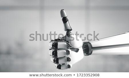 bueno · robot · arte · pop · retro · steampunk - foto stock © sommersby