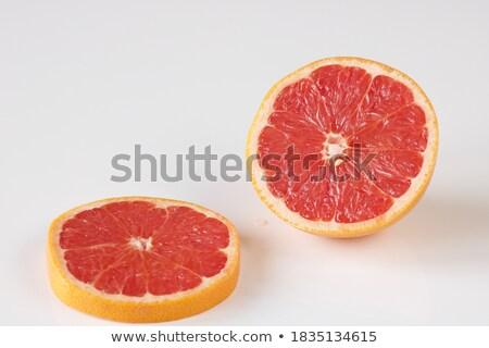 свежие грейпфрут Cut завтрак сока диета Сток-фото © M-studio