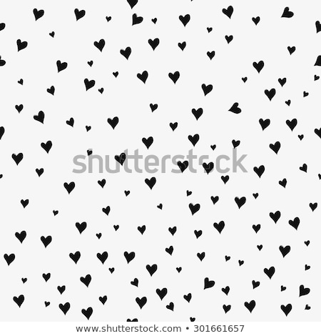 Seamless pattern of hearts on a red background Stock photo © FoxysGraphic