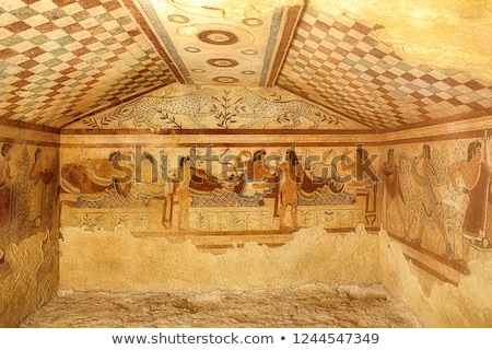 Ancient etruscan art Stock photo © wjarek