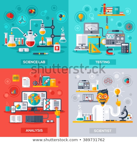Computer Lab concept vector illustration. Stock photo © RAStudio
