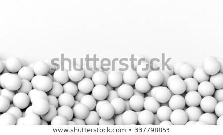 fehér · pont · vonal · stílus · alkat · szett - stock fotó © robuart