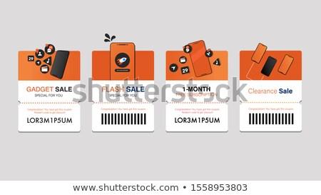 продажи · баннер · вектора · шаблон - Сток-фото © SaqibStudio