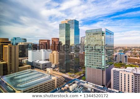 Phoenix torres Arizona cityscape edifício Foto stock © gomixer