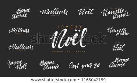 porc · ruban · bannière · souriant · heureux · signe - photo stock © jeksongraphics