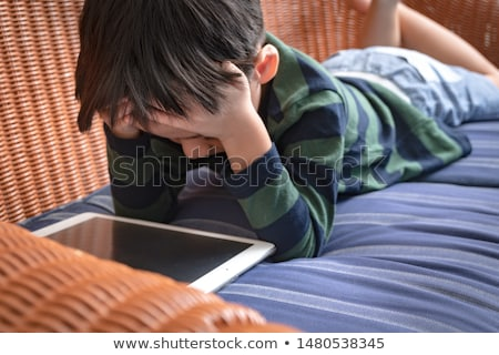 Screen Time Damaging The Brain Stock photo © Lightsource