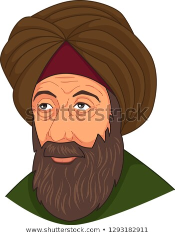 Ibn al-Haitam Arabian Optician Illustration Stock photo © artisticco