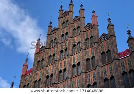 旧市街 · ホール · ハノーバー · ドイツ · 空 · 市 - ストックフォト © benkrut