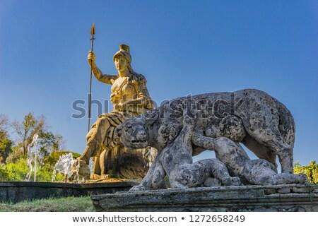 статуя Рим торжествующий Villa Италия мнение Сток-фото © boggy