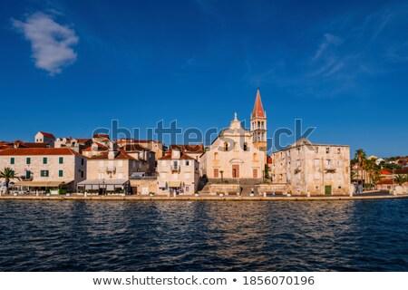 Miasta port historyczny panoramę widoku wyspa Zdjęcia stock © xbrchx