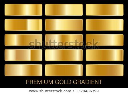 Réz fémes prémium gradiensek szett textúra Stock fotó © SArts