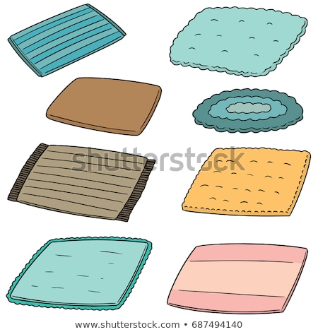 vector set of foot wipe Stock photo © olllikeballoon