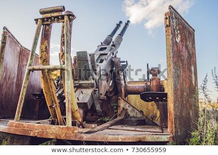 Ruínas forte Rússia primeiro mundo guerra Foto stock © galitskaya