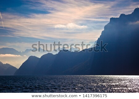 Photo stock: Lac · alpine · dramatique · lumières · vue