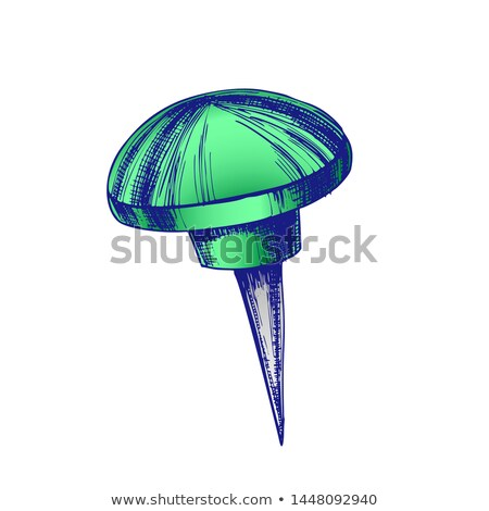 Color Stationery Thumbtack Climbing Push Pin Vector Stock photo © pikepicture