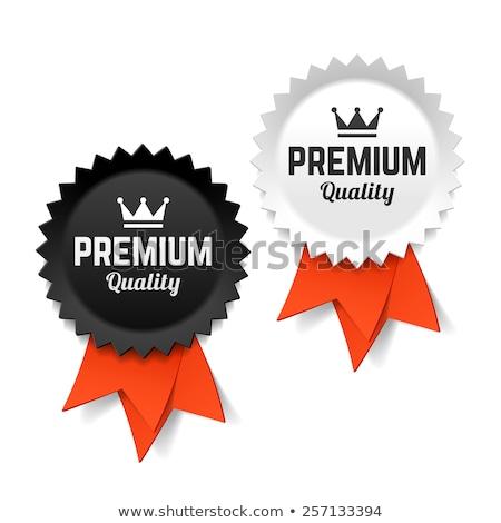 Premia oryginał jakości odznakę etykiety godło Zdjęcia stock © vector1st