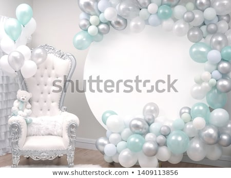 It's a boy party balloon Stock photo © creisinger
