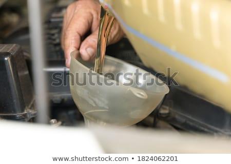 Acier entonnoir 3d illustration isolé blanche eau Photo stock © montego