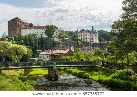 castle in Becov nad Teplou, Czech Republic Stock photo © borisb17