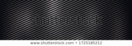 abstract carbon fiber texture dark black background Stock photo © SArts