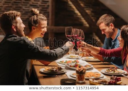 человека стекла вино служивший Сток-фото © pressmaster