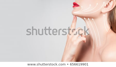 Woman Face Neck Lift Stock photo © AndreyPopov
