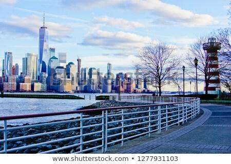 Lower Manhattan View from New Jersey Stock photo © lightpoet