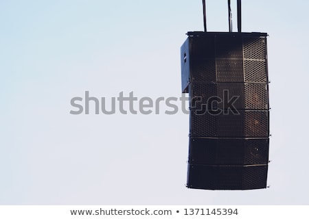 Hanging Horn Speakers Stock photo © albund