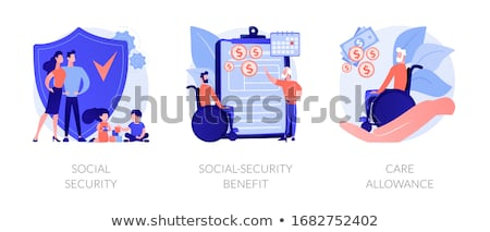 Família beneficiar abstrato imposto pagamento por Foto stock © RAStudio
