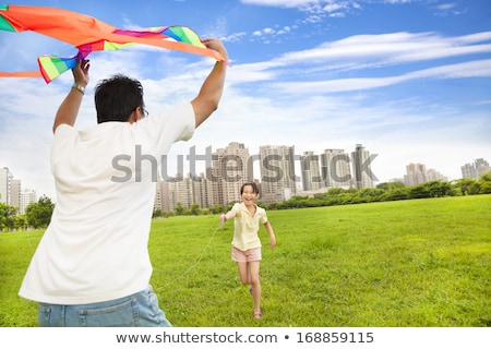 family run outdoor in city on spring Stock photo © Paha_L