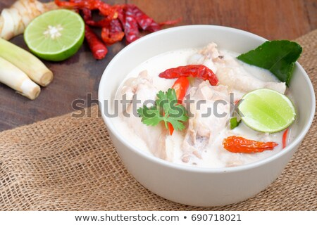 Ver bom delicioso thai sopa Foto stock © ersler
