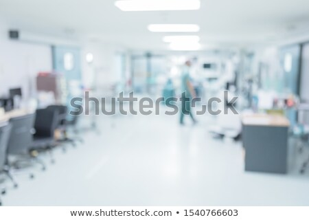 Lekarza stałego korytarzu człowiek pracy medycznych Zdjęcia stock © photography33