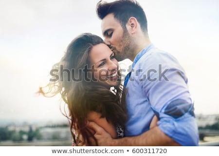 Couple of happy tourists Stock photo © photography33
