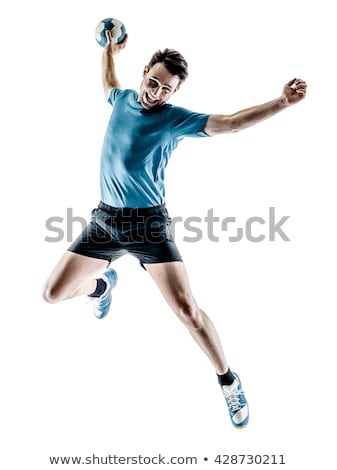 Young men playing handball Stock photo © photography33