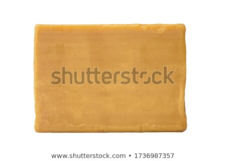 Бар устаревший мыло изолированный белый Сток-фото © boroda