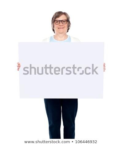 улыбаясь старушку портрет Сток-фото © stockyimages