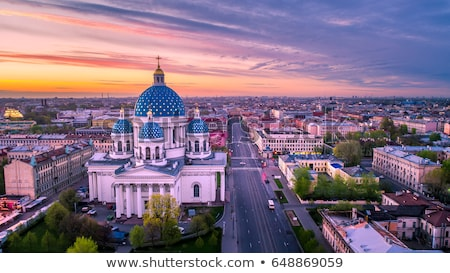 Urban landscape, the city of St. Petersburg Stock photo © RuslanOmega
