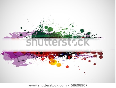 Inky splash with space for your text Stock photo © Designer_things