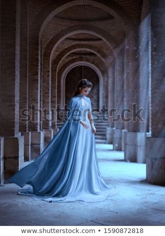 sad princess Stock photo © dolgachov