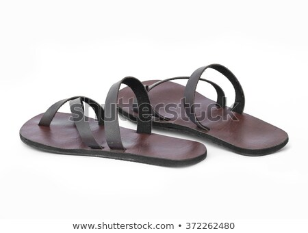 Pair of male slippers Stock photo © photography33