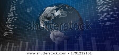 実例 · バーチャル · 世界 · 地球 · 画像 - ストックフォト © wavebreak_media