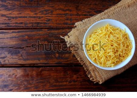 Patates sıcak lezzetli sopa akşam yemeği Stok fotoğraf © fiphoto